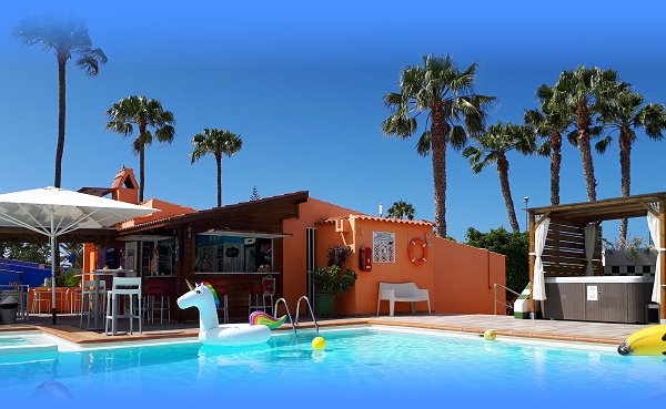 Gay resort bungalows Gran Canaria