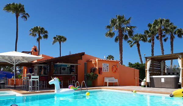 Gay resort bungalows Gran Canaria